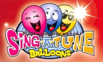 Singende Luftballons aus Folie