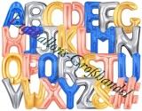Buchstaben 100 cm