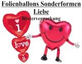 Luftballons Liebe Sonderformen