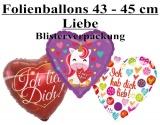 Luftballons Liebe 43 cm - 45 cm