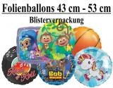 Luftballons Folie, 43 cm - 53 cm