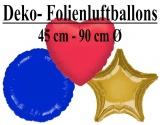Stern-Herz-Rund-Luftballons
