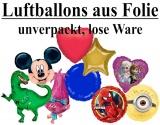 Folien-Luftballons, unverpackt