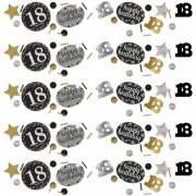 Konfetti Happy Birthday Sparkling Gold 18, 34 Gramm Packung