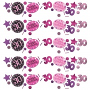 Konfetti Happy Birthday Sparkling Pink 30, 34 Gramm Packung