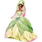Folien-Luftballon Disney Princess Tiana, Shape, 5 Stück