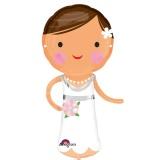 Luftballon Hochzeit, Lovely Bride, Braut, 5 Stück