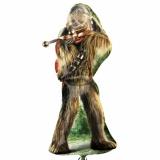 Folien-Luftballon Chewbacca, Star Wars, Shape, 5 Stück