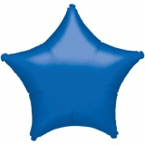 "Sternluftballon, Folie, 18"" - 45 cm, Blau"