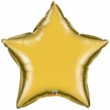 "Sternluftballon, Folie, 36"" - 90 cm, Gold"