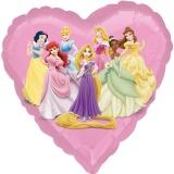 Luftballon, Folienballon, Disney Princess, 45 cm, 10 Stück