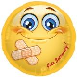 Folien-Luftballon Smiley, Gute Besserung, 5 Stück