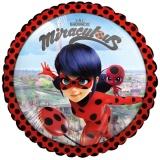 Luftballon, Folienballon, Miraculous Ladybug, 43 cm, 5 Stück