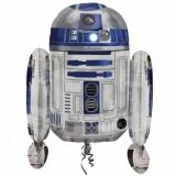 Folien-Luftballon R2D2, Star Wars, Shape, 5 Stück