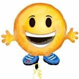 Folien-Luftballon Emoji Buddy, Shape, 5 Stück