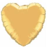 "Herzluftballon, Folie, 90 cm, 36"" Gold"