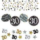 Konfetti Happy Birthday Sparkling Gold 30, 34 Gramm Packung