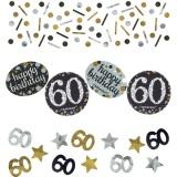 Konfetti Happy Birthday Sparkling Gold 60, 34 Gramm Packung