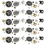 Konfetti Happy Birthday Sparkling Gold 70, 34 Gramm Packung