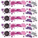 Konfetti Happy Birthday Sparkling Pink, 34 Gramm Packung