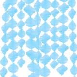 Kreppgirlande, blau, 3 m