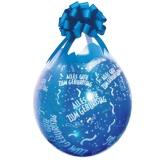 Verpackungsballons, Stuffer, Alles Gute zum Geburtstag, 10 Stück, transparent