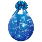 Verpackungsballons, Stuffer, Alles Gute, 10 Stück, transparent