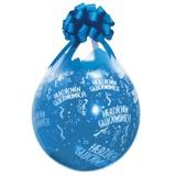 Verpackungsballons, Stuffer, Herzlichen Glückwunsch, 10 Stück, transparent