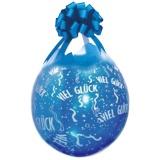 Verpackungsballons, Stuffer, Viel Glück, 10 Stück, transparent