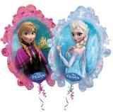 Folien-Luftballon Frozen, Shape, 10 Stück