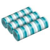 Luftschlangen - Aqua Glamor, 3 Stück Packung