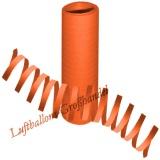 Luftschlangen - Orange, 1 Stück