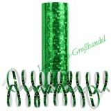 Luftschlangen - Grün, holografisch, 1 Rolle