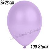 Latexballons, 25-28 cm cm, Metallic, Lila, 100 Stück