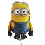 Folien-Luftballon Minion Dave, Shape, 10 Stück