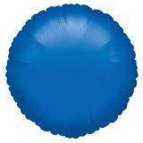 """Rundluftballon, Folie, 18"""" - 45 cm, Blau"""