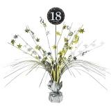 Tischdekoration Happy Birthday Sparkling Gold 18, 1 Stück