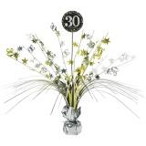 Tischdekoration Happy Birthday Sparkling Gold 30, 1 Stück