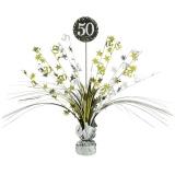 Tischdekoration Happy Birthday Sparkling Gold 50, 1 Stück