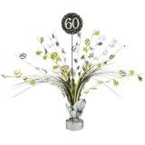 Tischdekoration Happy Birthday Sparkling Gold 60, 1 Stück