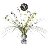Tischdekoration Happy Birthday Sparkling Gold 70, 1 Stück