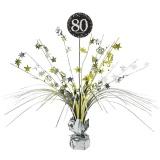 Tischdekoration Happy Birthday Sparkling Gold 80, 1 Stück