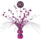 Tischdekoration Happy Birthday Sparkling Pink 80, 1 Stück