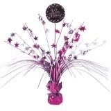 Tischdekoration Happy Birthday Sparkling Pink, 1 Stück