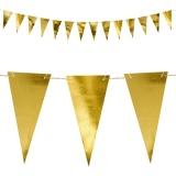 Wimpelkette Gold, 2,15 m
