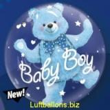 Doppel-PVC-Ballons, Insider, Baby Bär zur Geburt, Junge