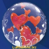 Doppel-PVC-Ballons, Insider, Schwebende Herzen der Liebe