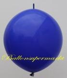 Großer Kettenballon, Blau