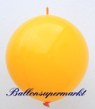 Großer Kettenballon, Orange