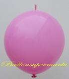 Großer Kettenballon, Pink